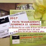 Festa del tesseramento 2017