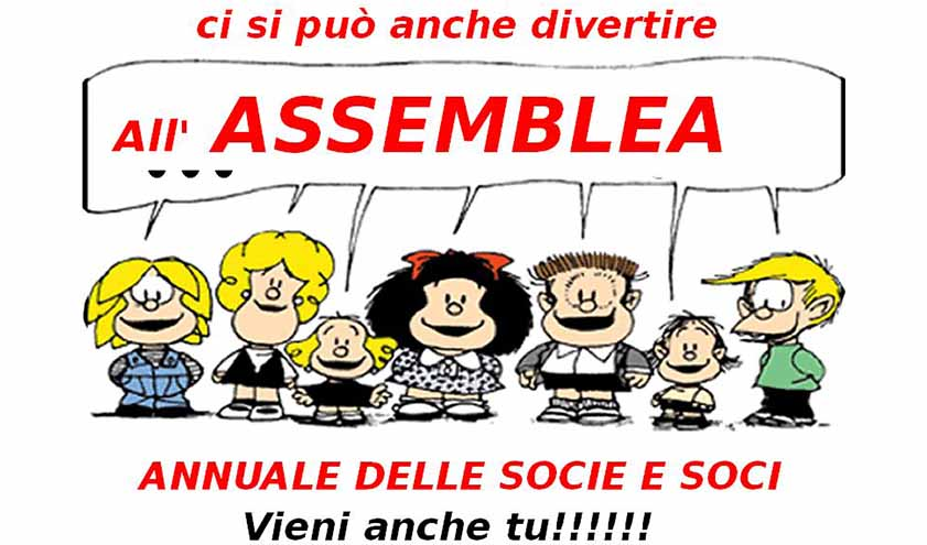 Assemblea Annuale Socie e Soci