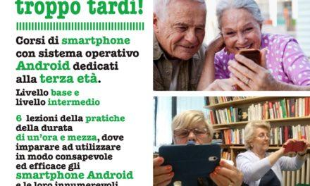 Android smartphone, non è mai troppo tardi