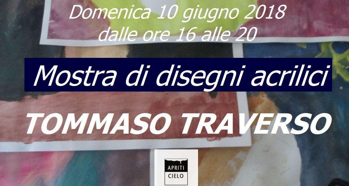 Mostra lavori a tempera di Tommaso Traverso